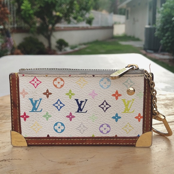 21bf64ff166f Louis Vuitton Handbags - Louis Vuitton multicolore cles pochette coin case